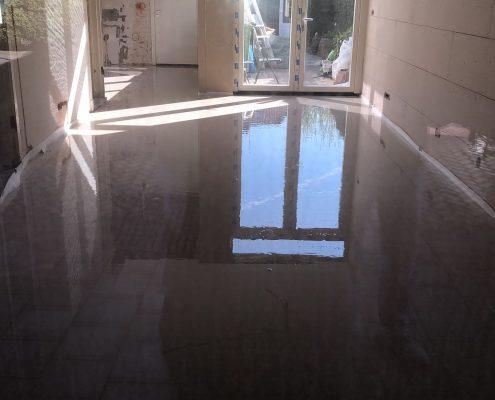 verdiepingsvloer met vloerverwarming